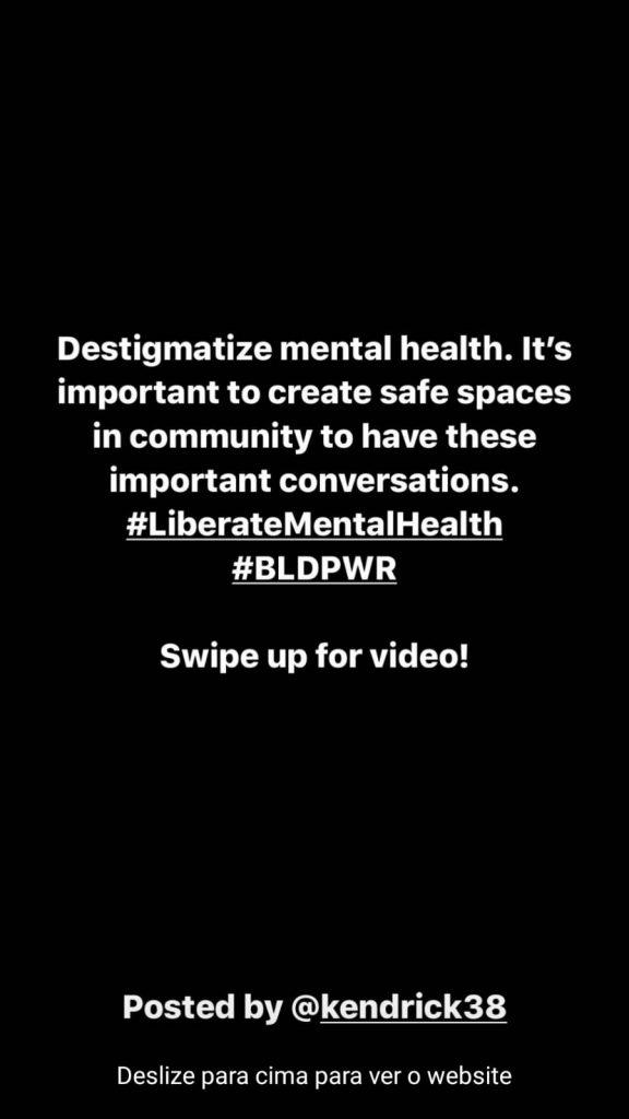 A coisa mais pessoal que eu já escrevi. We neeed a green new deal for mental health.